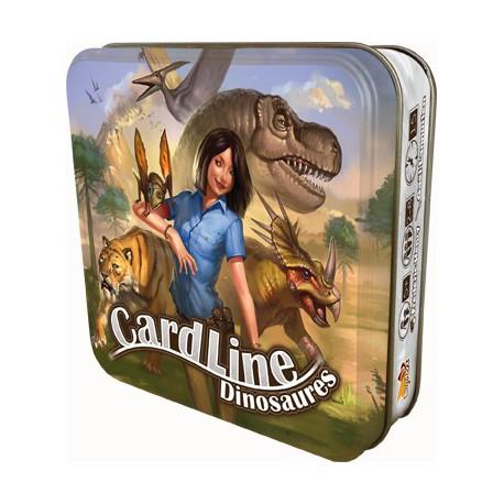 Cardline Dinosaures - Bombyx - Jeux de société - Pour les enfants (5-7 ans) - Pour tous (8 ans - Adulte)