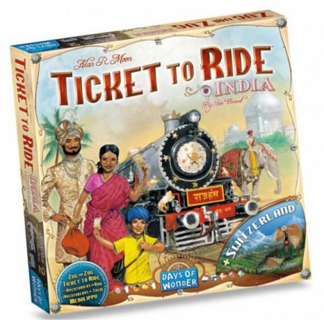 Aventuriers du rail - India - Days of wonder - Jeux de société - Pour tous (8 ans - Adulte)