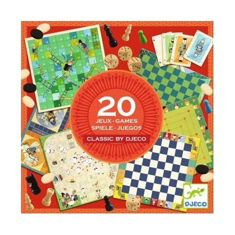 Boite 20 Jeux Djeco Pour Les 5 8 Ans Jeux De Societe