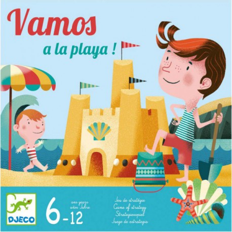 Vamos a la playa - Djeco - Jeux de société - Pour les enfants (5-7 ans)