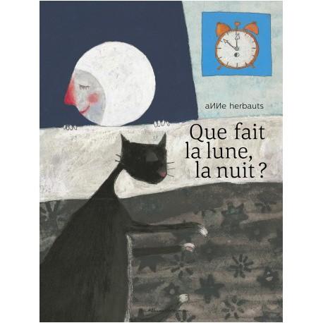 Que fait la lune la nuit ? - CASTERMAN - Albums Enfants 3 - 5 ans - Livres jeunesse