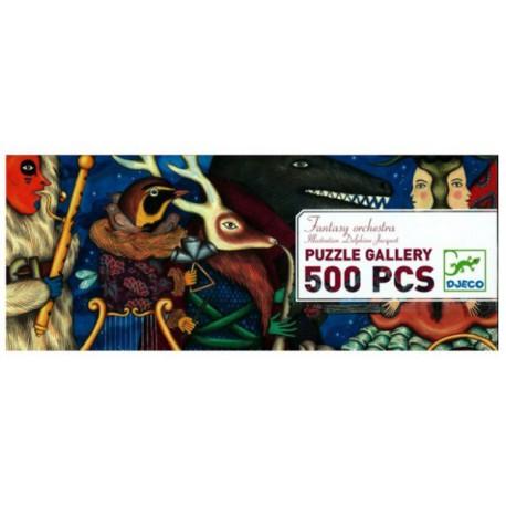 500 Fantasy orchestra - Djeco - DE 100 à 500 pièces - Puzzles