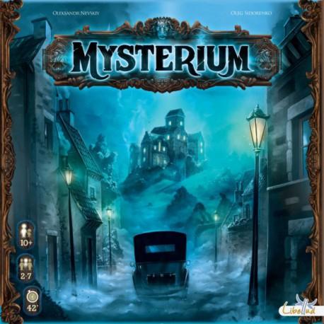 Mysterium - Libellud - Jeux coopératifs - Jeux d'enquête et de déduction - Pour les 8 ans - Adultes - Jeux de société