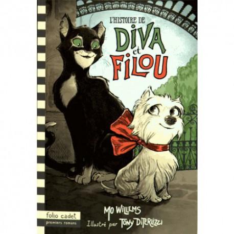 Diva et Filou - GALLIMARD / Folio cadet - Lectures 6-10 ans - Livres jeunesse