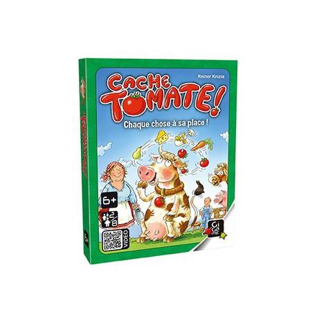 Cache tomate ! - Gigamic - Jeux de mémoire - A partir de 5-6 ans - Jeux de société