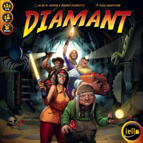 Diamant - Iello - Jeux de société - Pour tous (8 ans - Adulte)