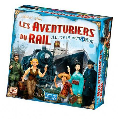 Av - Autour du monde - Days of wonder - Jeux de société - Pour tous (8 ans - Adulte)