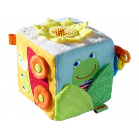 Cube-jouet - HABA - Jouets tissu et peluches - Les tout-petits