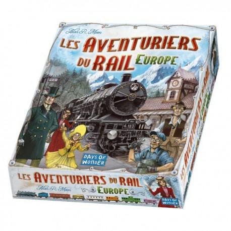 Aventuriers du rail - Europe - Days of wonder - Jeux de société - Pour tous (8 ans - Adulte)