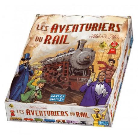 Aventuriers du rail - Days of wonder - Jeux de société - Pour tous (8 ans - Adulte)
