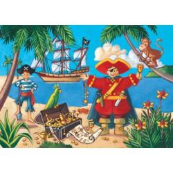 S036 Pirate et son trésor