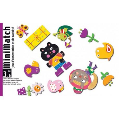 Minimatch - Djeco - Observation / Rapidité - A partir de 2-3 ans - Jeux de société