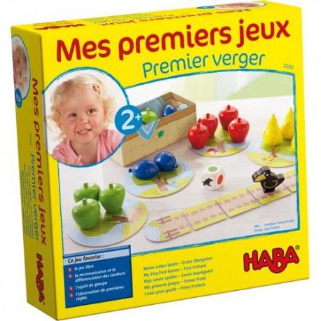 Mon Premier Verger - HABA - Jeux coopératifs - A partir de 2-3 ans - Jeux de société